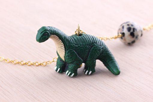 Dinosaur Necklace Brachiosaurus