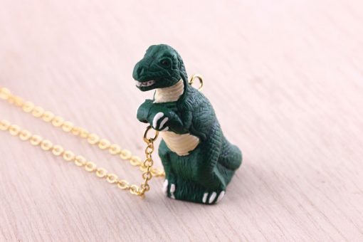 Dinosaur Necklace Trex