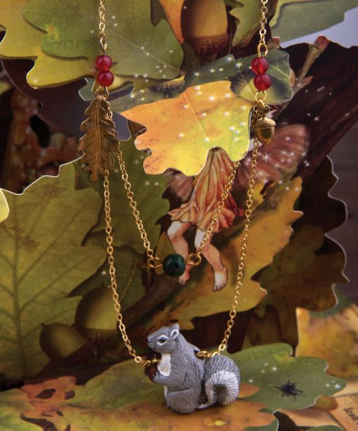 Ceramic Animal Squirrel Jewelry