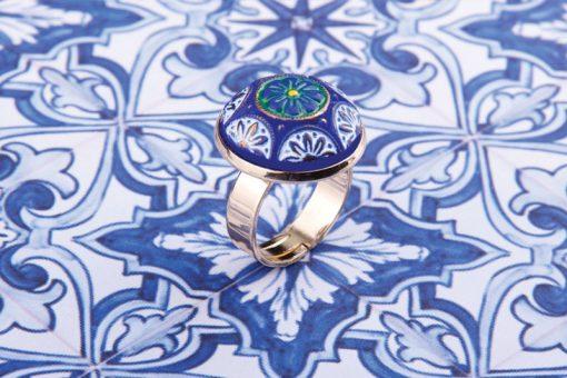 Mosaic Tiles Ring