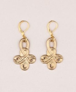 Boho Earrings Celtic Knot