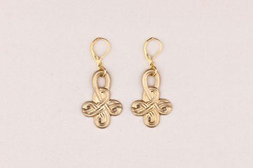 Boho Earrings Celtic Knot