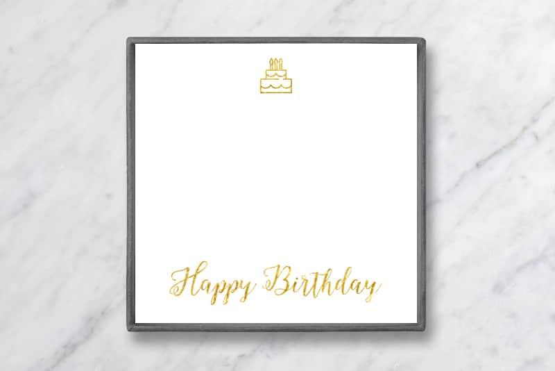 Birthday Gift Baublebible